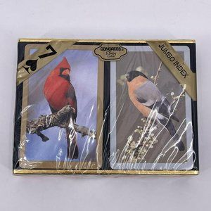Vintage Congress Bird Playing Cards TWO DECK New